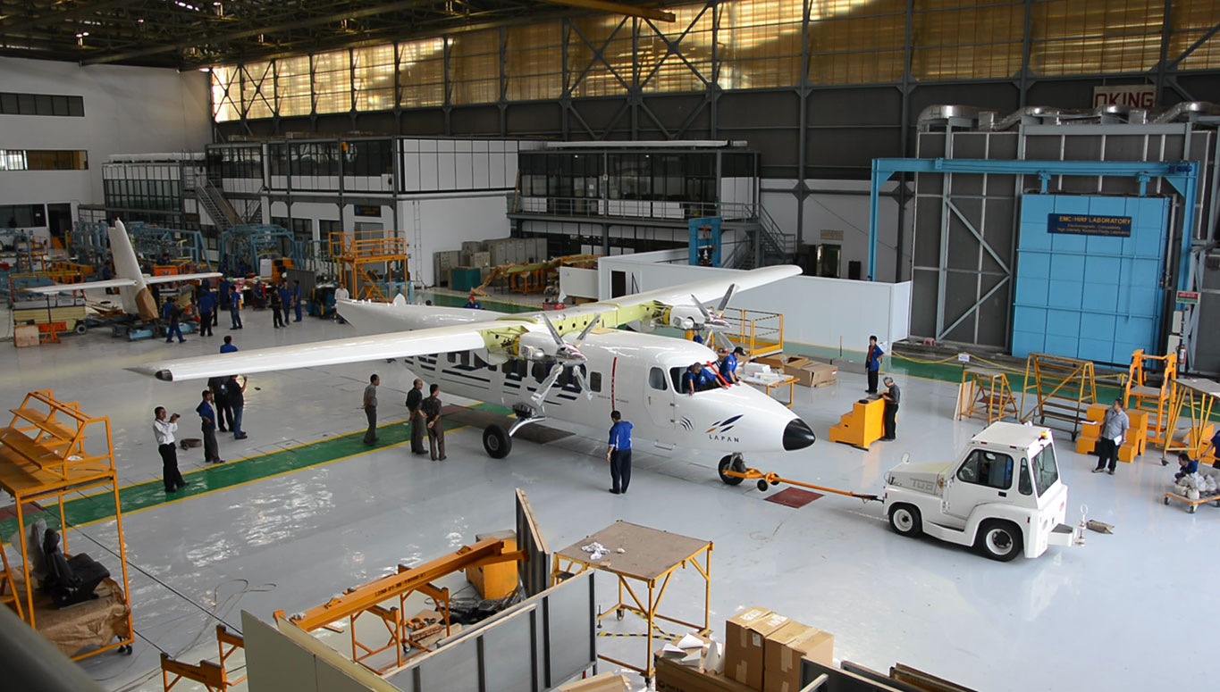 After N-219 production has been completed, two further aircraft are scheduled for development; the N-245 with a 50 passenger seating capacity and the N-270 with a 70 passenger seating capacity. (Indonesian Aerospace)